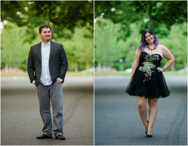 Engagement Shoot solo pictures together